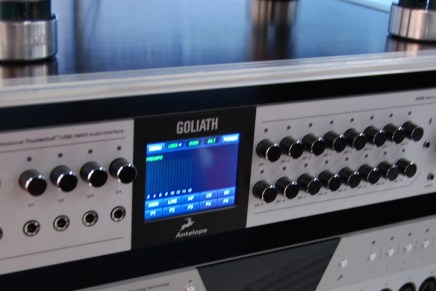 Antelope Audio Introduces Goliath audio interface
