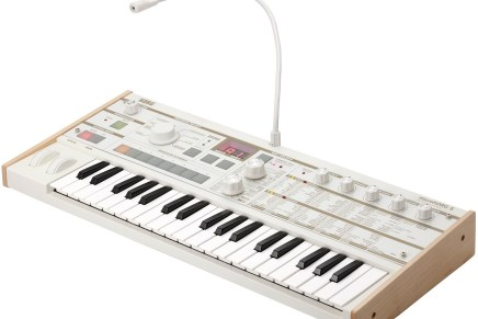 Korg announces new microKORG-S synthesizer