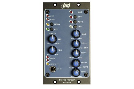 Bel Heritage Designs recreates an analogue classic with new BF-20-500 stereo flanger for 500 series