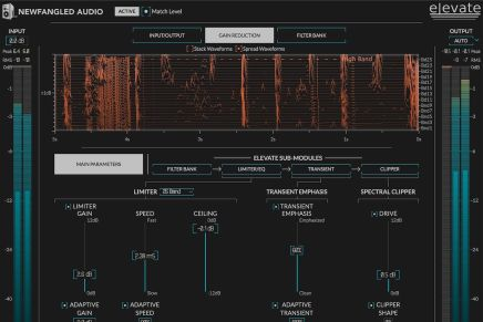 Newfangled Audio partners with Eventide to release novel EQuivocate auditory graphic EQ plug-in