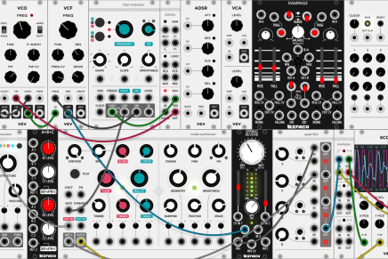 VCV Rack a Virtual eurorack modular synthesizer for free
