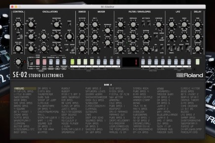 Studio Electronics announces stand alone software editor for the Roland SE-02