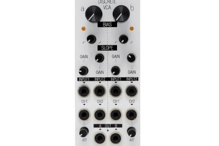 KOMA Elektronik releases Dual Discrete VCA Eurorack Module