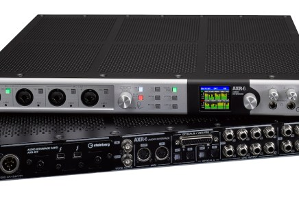 Steinberg announces AXR4 Thunderbolt 2 audio Interface