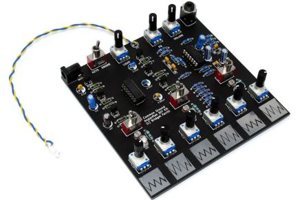 KOMA Elektronik and COMMON GROUND announces Anglerfish Drone Synth DIY Kit