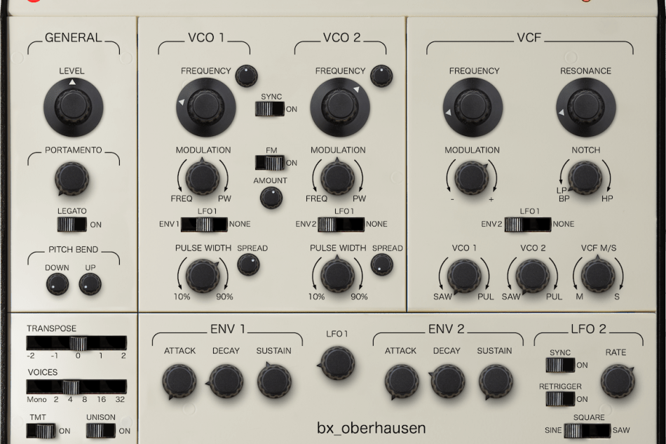 Brainworx Audio announces first virtual synthesizer bx_oberhausen