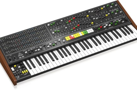 Behringer announces the DS-80 remake of the iconic Yamaha CS-80