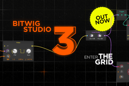 Bitwig Studio 3 is out now