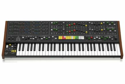 And here it is: the Yamaha CS80 from Behringer – the DS80 polyphonic analogue synthesizer