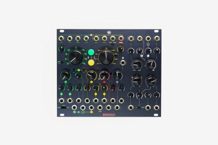 Frap Tools announces Brenso two analog oscillator for Eurorack