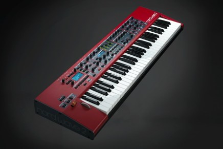 Clavia DMI AB introduces the Nord Wave 2 Virtual Analog synthesizer