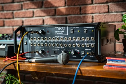 The Moog Vocoder Returns
