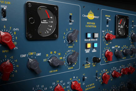 Softube and Chandler Limited release Zener-Bender plug-in channel strip