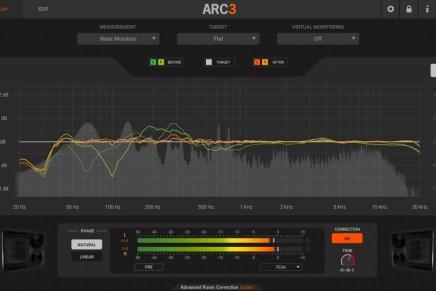 IK Multimedia launches ARC System 3 studio acoustic correction