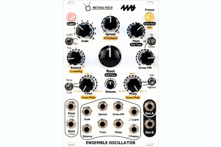4ms Company & Matthias Puech announces Ensemble Oscillator for Eurorack