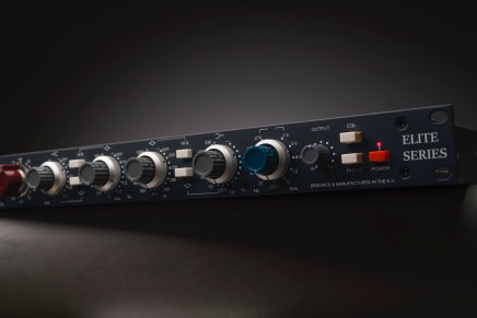 Heritage Audio expands Elite Series with classic console circuitry-mixing HA-81A hybrid channel strip