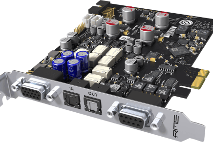 RME announces new HDSPe AIO Pro PCI Express Audio Interface