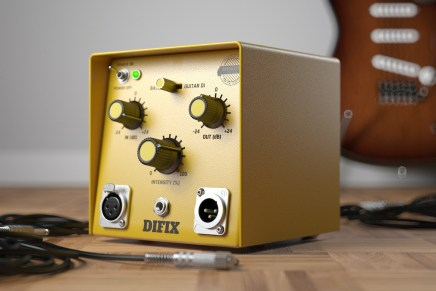 United Plugins announces SounDevice Digital's DIFIX software