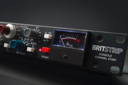 Heritage Audio announces availability of BritStrip console channel strip