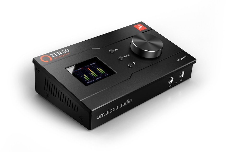 Antelope Audio announces Zen Go Synergy Core