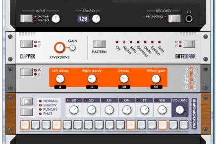 Realtime effects processor for the Korg Monotron