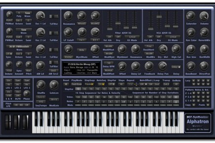 Alphatron VSTi – New Synth from H.G. Fortune