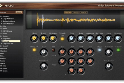 VirSyn REFLECT 2.5 – Hybrid Reverb goes 64bit