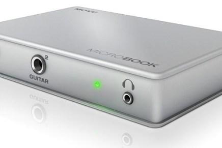 Motu Microbook USB Audio Interface released