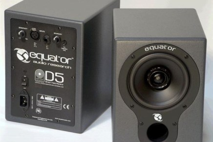 Equator Audio D5 Studio Monitors Now Available