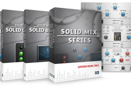Native Instruments SOLID MIX SERIES and TRANSIENT MASTER Announced