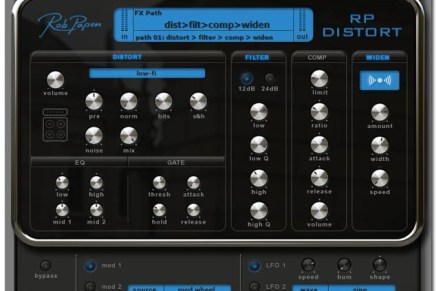 Rob Papen RP-Distort FX Plugin Coming Soon