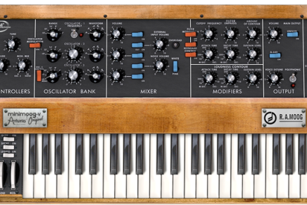 Arturia Minimoog-V FREE on 21st June