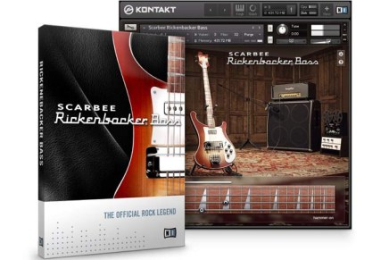 Native Instruments introduces SCARBEE RICKENBACKER BASS