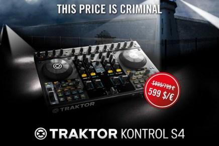 Native Instruments Traktor Kontrol S4 Limited Time Sale