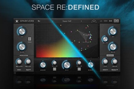 Space Re:Defined with UVI SparkVerb reverb plugin