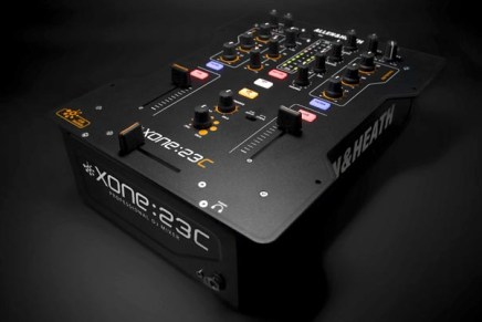 Allen & Heath introducing the Xone:23C DJ Mixer
