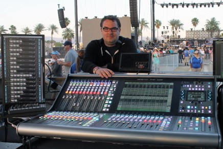 FOH Engineer Chris Stephens Uses MultiRack SoundGrid to Run Waves Plugins with SSL Live L500
