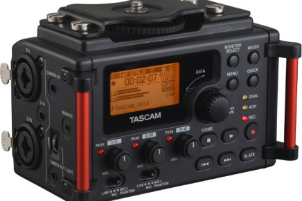 TASCAM has announced the DR-60DmkII DSLR Recoder