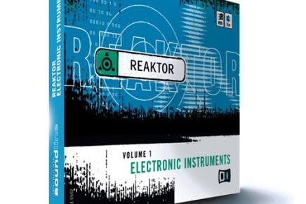 NI reissues Reaktor Electronic Instruments 1