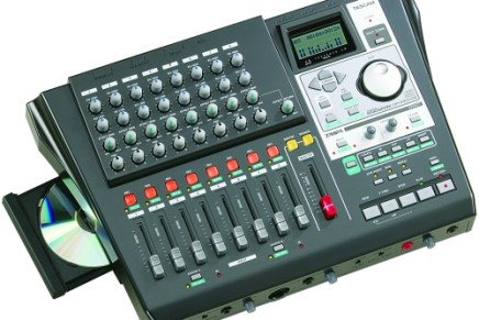 Tascam announces DP-01FXCD digital portastudio
