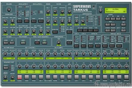 Superwave announces Tarkus