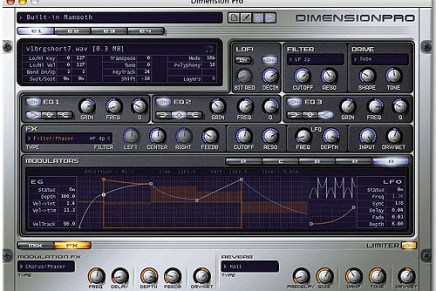 Cakewalk updates Dimension synth