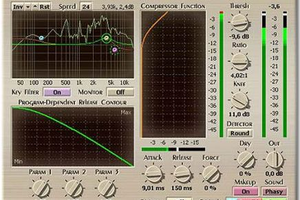 Voxengo updates Marquis Compressor to v.1.3
