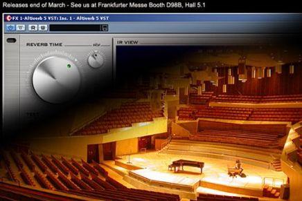Audio Ease announces Altiverb for Windows XP