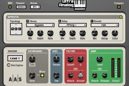 AAS releases Ultra Analog Session for Mac and Windows