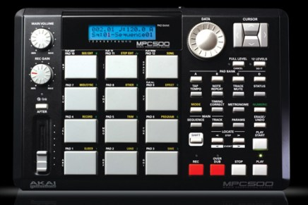 Official: AKAI Professional unveils the MPC500