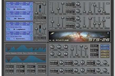 H.G. Fortume releases STS-26 VSTi Synthesizer