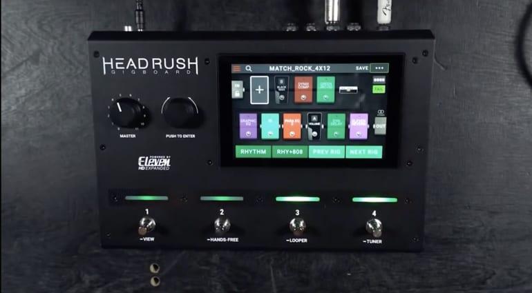 Headrush Gigboard leaked