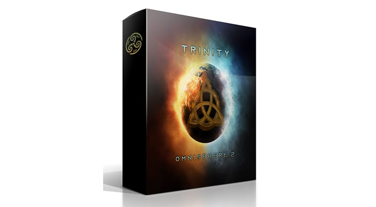 Triple Spiral Audio Trinity for Omnisphere 2 sample pack cover art