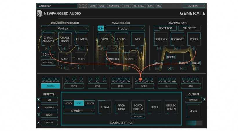 Newfangled Audio Generate